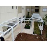 instalação de cobertura em policarbonato alveolar preço Casa Verde