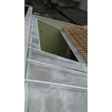 instalação de cobertura em policarbonato retrátil cristal preço Cupecê