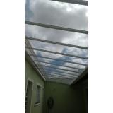 instalação de cobertura em policarbonato retrátil em sp Brasilândia