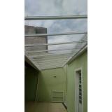 instalação de cobertura em policarbonato retrátil preço Santana de Parnaíba