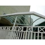 instalação de cobertura policarbonato retrátil automatizada Parque do Carmo