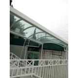 instalação de cobertura retrátil em policarbonato preço Vila Anastácio