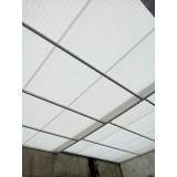 instalação de coberturas de policarbonato retráteis translúcida Jabaquara