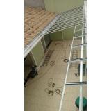 instalação de coberturas em policarbonato retráteis translúcida Jabaquara