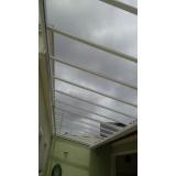 instalação de coberturas em policarbonato retráteis Parque Anhembi