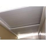 instalação de telhas de zinco acústica Pompéia