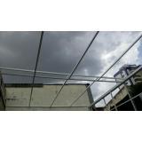 instalação de cobertura de policarbonato retrátil cristal