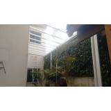 manutenção de cobertura de policarbonato alveolar em garagem preço Salesópolis
