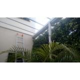 manutenção de cobertura de policarbonato alveolar em janelas em sp Vila Formosa