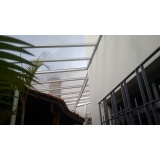 manutenção de cobertura de policarbonato alveolar em janelas Cidade Patriarca