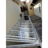 manutenção de cobertura de policarbonato alveolar em varandas em sp Vila Gustavo