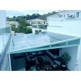 manutenção de cobertura de policarbonato em pergolado preço Jardim Bonfiglioli
