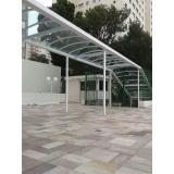 manutenção de cobertura de policarbonato em varandas preço Vila Endres