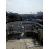 manutenção de cobertura de policarbonato retrátil em pergolado São Domingos