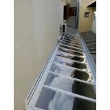manutenção de cobertura em policarbonato alveolar em churrasqueira em sp Cidade Ademar