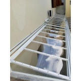 manutenção de cobertura em policarbonato alveolar em churrasqueira Poá