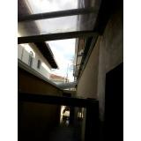 manutenção de cobertura em policarbonato alveolar em garagem em sp Socorro