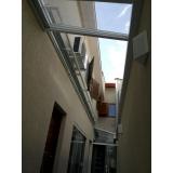 manutenção de cobertura em policarbonato alveolar em garagem preço Vila Andrade