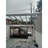 manutenção de cobertura em policarbonato retrátil em garagem preço Jaguaré