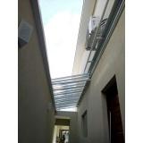 manutenção de cobertura policarbonato alveolar em pergolado em sp Vila Dalila