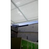 manutenção de cobertura de policarbonato retrátil em garagem