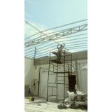 manutenção de cobertura de policarbonato retrátil em piscina