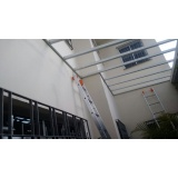 manutenções de coberturas de policarbonato alveolares em garagens Chora Menino