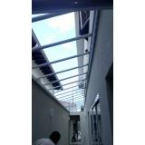 manutenções de coberturas de policarbonato alveolares em janelas Serra da Cantareira