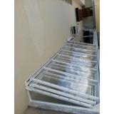 manutenções de coberturas de policarbonato alveolares em quintais Cidade Dutra