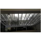 quanto custa cobertura de vidro para varandas Vila Mazzei