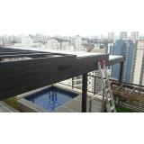 quanto custa cobertura em vidro para garagem Rio Grande da Serra