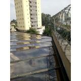 quanto custa cobertura em vidro para pergolado Vila Alexandria