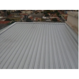 telhas de alumínio com poliuretano