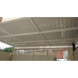 telhas de zinco para cobertura Jardim Santa Helena